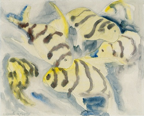 contemporary paintings - Fish Series, No-3 - Demuth, Charles