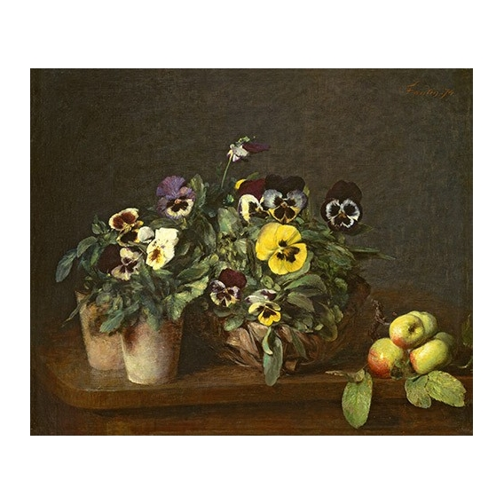 """Still Life with Pansies"""
