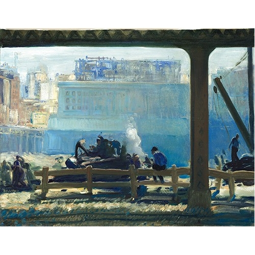 Comprar landscapes - Blue Morning online - Bellows, George