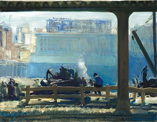 landscapes - Blue Morning - Bellows, George