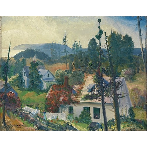 Comprar  - Cuadro The Red Vine, Matinicus Island, Maine online - Bellows, George