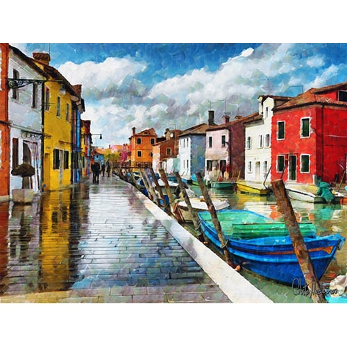 Comprar contemporary paintings - Picture Moderno CM10514 online - Medeiros, Celito