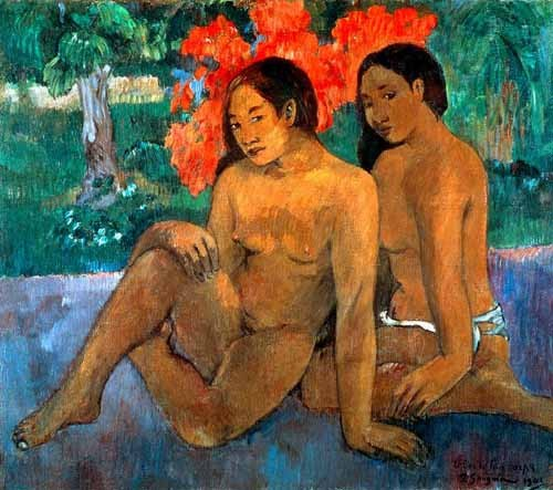 portrait and figure - Y el oro de sus cuerpos - Gauguin, Paul