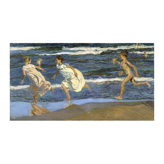 "Picture ""Running on the beach"""