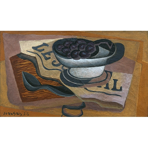 Comprar abstracts paintings - Picture Uvas negras online - Gris, Juan