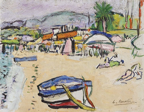seascapes - On the beach, south of France - Hunter, G.L.