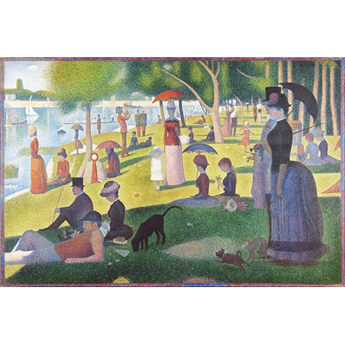 Cuadro Sunday Afternoon on the Island of La Grande Jatte, 1884-86