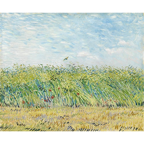 Comprar landscapes - Wheatfield with Partridge, 1887 online - Van Gogh, Vincent