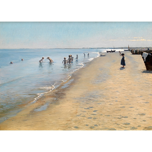 Cuadro Summer Day at the South Beach of Skagen