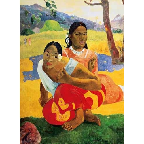 Comprar portrait and figure - ¿Cuándo te casas? (1892) online - Gauguin, Paul