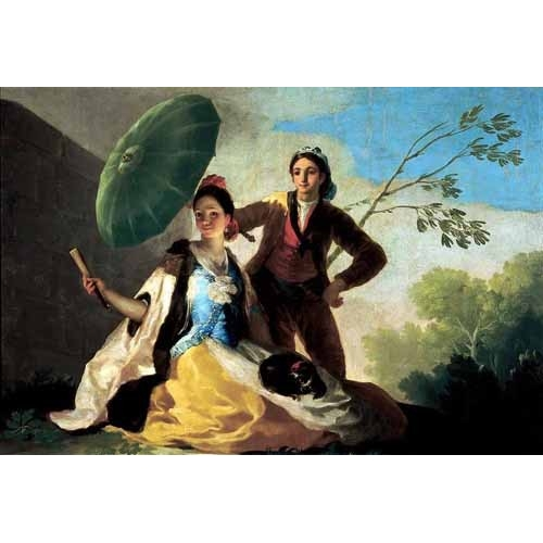 Comprar portrait and figure - El quitasol, 1777 online - Goya y Lucientes, Francisco de