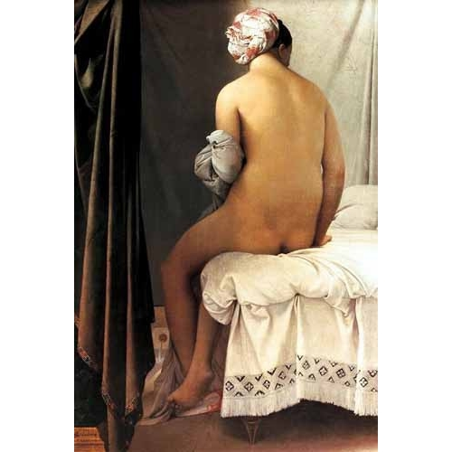 Comprar nude paintings - La bañista de Valpincon, 1808 online - Ingres, Jean-Auguste-Dominique