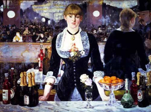 Comprar Still life paintings - El bar del Folies Bergeres, 1881 online - Manet, Eduard