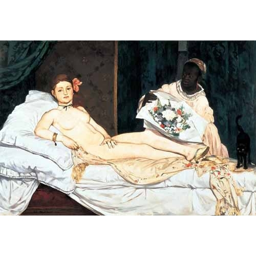 Comprar nude paintings - Olympia, 1863 online - Manet, Eduard