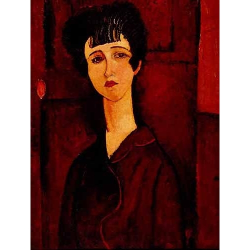 Comprar portrait and figure - Retrato de una chica online - Modigliani, Amedeo