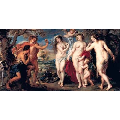 Comprar nude paintings - Juicio de Paris online - Rubens, Peter Paulus