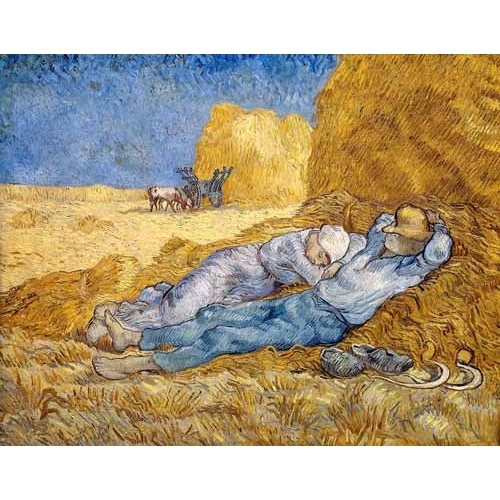 Comprar portrait and figure - La siesta online - Van Gogh, Vincent