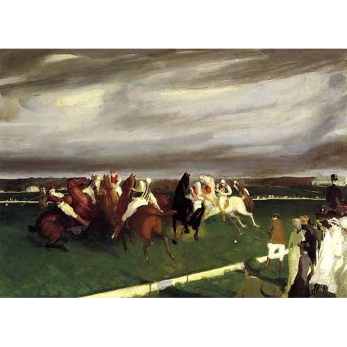 "cuadros de fauna - Cuadro ""Polo at Lakewood"" - Bellows, George"