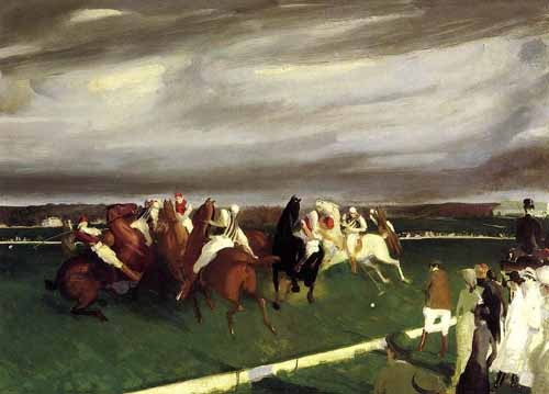 animals - Polo at Lakewood - Bellows, George
