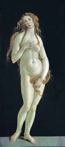 portrait and figure - Venus - Botticelli, Alessandro
