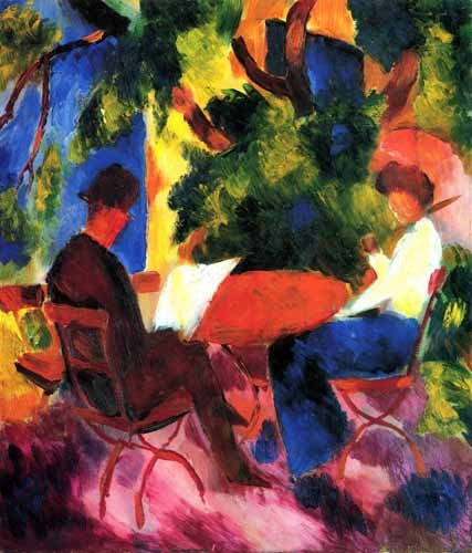 Comprar portrait and figure - August Macke 034 online - Macke, August