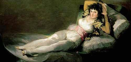 Comprar portrait and figure - La maja vestida online - Goya y Lucientes, Francisco de