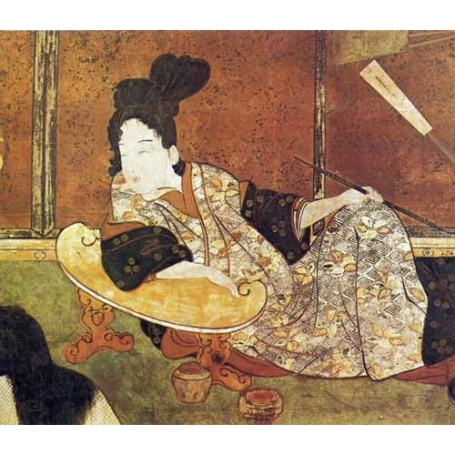 Comprar ethnic and oriental paintings - jpk00081 online - _Anónimo Japones