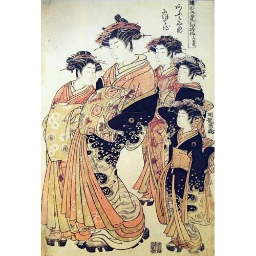 Comprar ethnic and oriental paintings - jpk00265 online - _Anónimo Japones