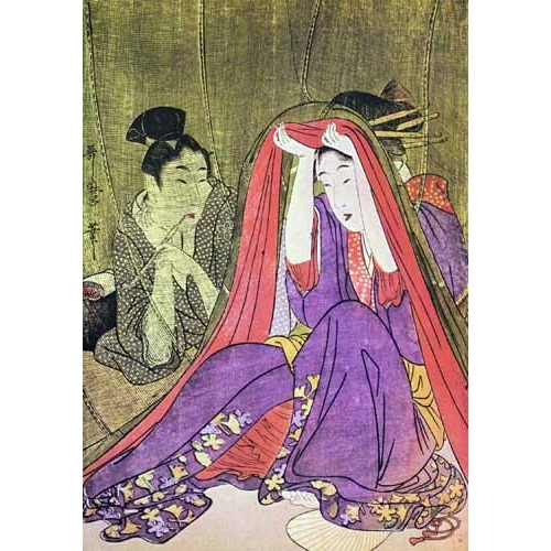 Comprar ethnic and oriental paintings - jpk00784 online - _Anónimo Japones