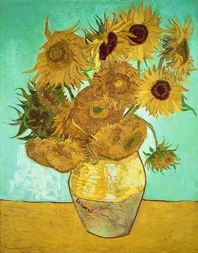 flowers - Girasoles 3 - Van Gogh, Vincent