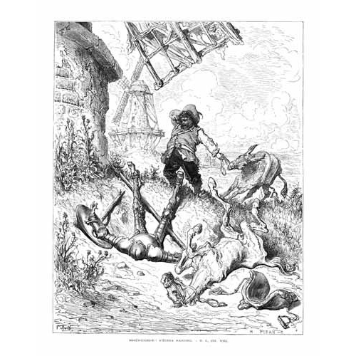 Comprar maps, drawings and watercolors - El Quijote 1-50 online - Doré, Gustave