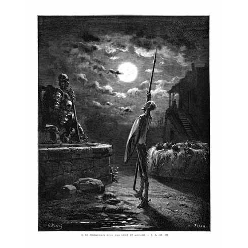 Comprar maps, drawings and watercolors - El Quijote 1-22 online - Doré, Gustave