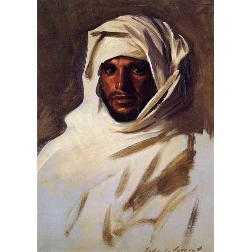 Comprar ethnic and oriental paintings - A Bedouin Arab online - Sargent, John Singer