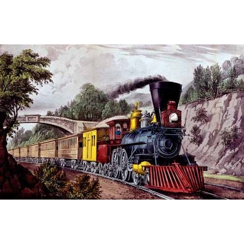 Comprar maps, drawings and watercolors - Tren rápido online - Currier Nathaniel y Ives James