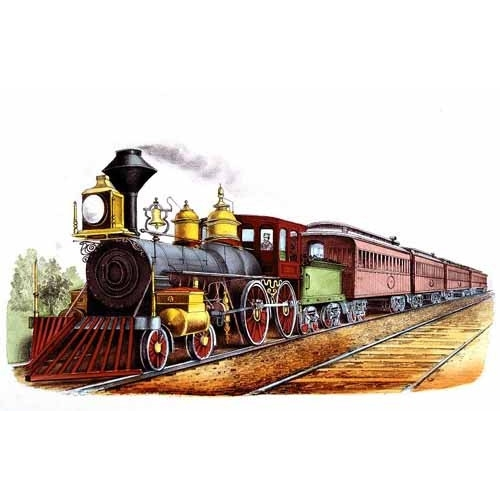 Comprar maps, drawings and watercolors - Tren expresso directo online - Currier Nathaniel y Ives James