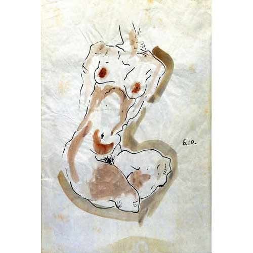 Comprar maps, drawings and watercolors - Desnudo Femenino  online - Schiele, Egon
