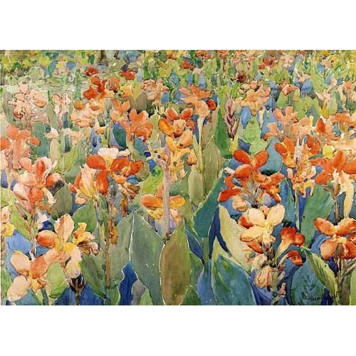 Comprar maps, drawings and watercolors - Cama de flores online - Prendergast, Maurice