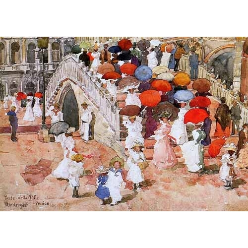 Comprar maps, drawings and watercolors - Ponte della Paglia online - Prendergast, Maurice