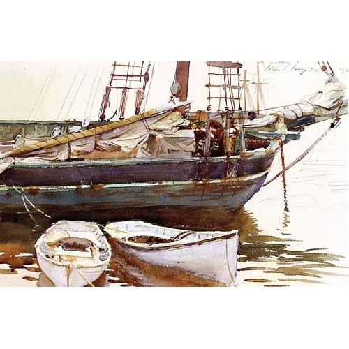Comprar maps, drawings and watercolors - Barco online - Sargent, John Singer