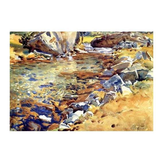 """Brook among Rocks"""
