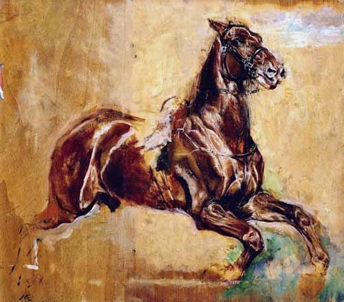 animals - Estudio de caballo - Meissoner, Jean Louis