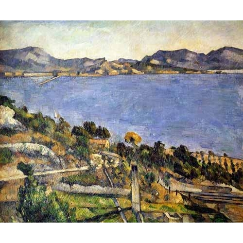 Comprar seascapes - La bahía de Marsella desde L´Estaque online - Cezanne, Paul