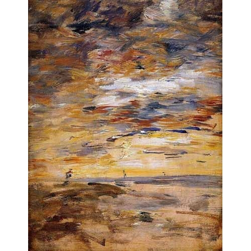 Comprar cuadros abstractos - Cuadro Sky at sunset online - Boudin, Eugene