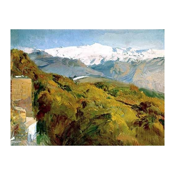 """Vista de Sierra Nevada"""