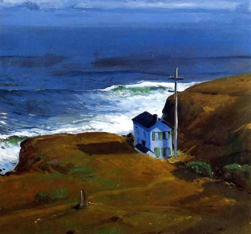 "cuadros de marinas - Cuadro ""Shore House"" - Bellows, George"