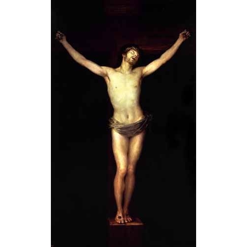 Comprar religious paintings - Cristo crucificado online - Goya y Lucientes, Francisco de