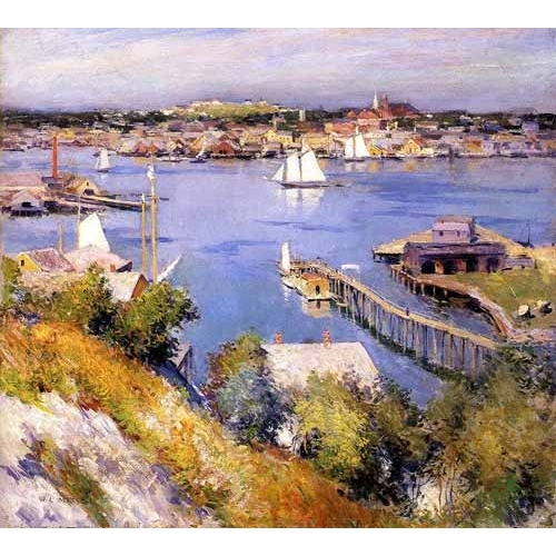 Comprar seascapes - Puerto de Gloucester online - Metcalf, Willard