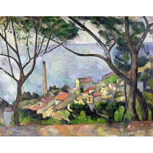 Comprar seascapes - El mar en L´Estaque online - Cezanne, Paul