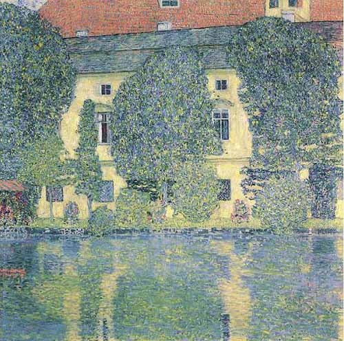 Comprar landscapes - The Sholoss Kammer on the Attersee online - Klimt, Gustav