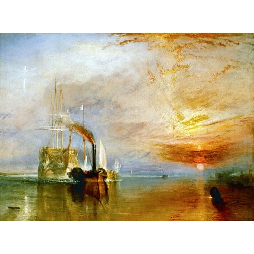 Comprar cuadros de marinas - Cuadro The Fighting Temeraire online - Turner, Joseph M. William